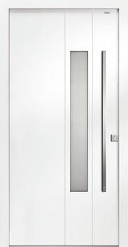 92032 fugen aluminium haust r mit glasausschnitt bayerwald. Black Bedroom Furniture Sets. Home Design Ideas
