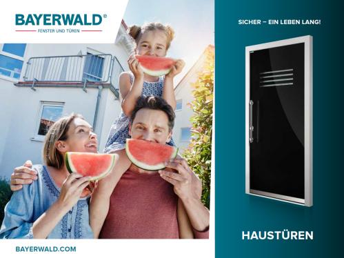 Gesamthaustüren Katalog - Bayerwald