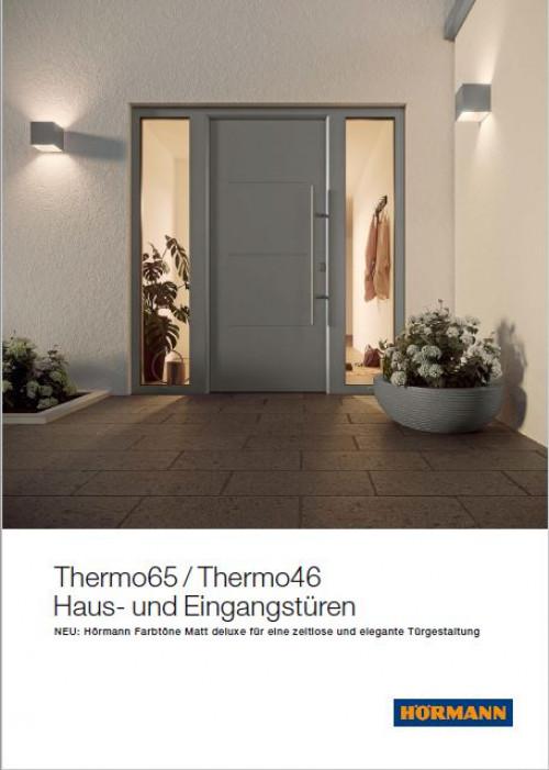 Thermo 65/Thermo 46 Haus- und Eingangstüren - Hörmann