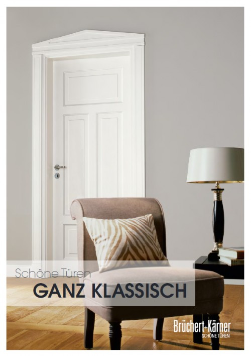Ganz klassisch Katalog - Brüchert + Kärner