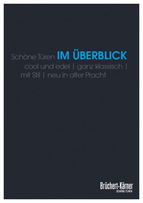 Im Überblick Katalog - Brüchert + Kärner
