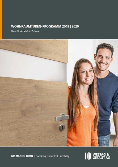 Wohnraum Katalog Westag&Getalit