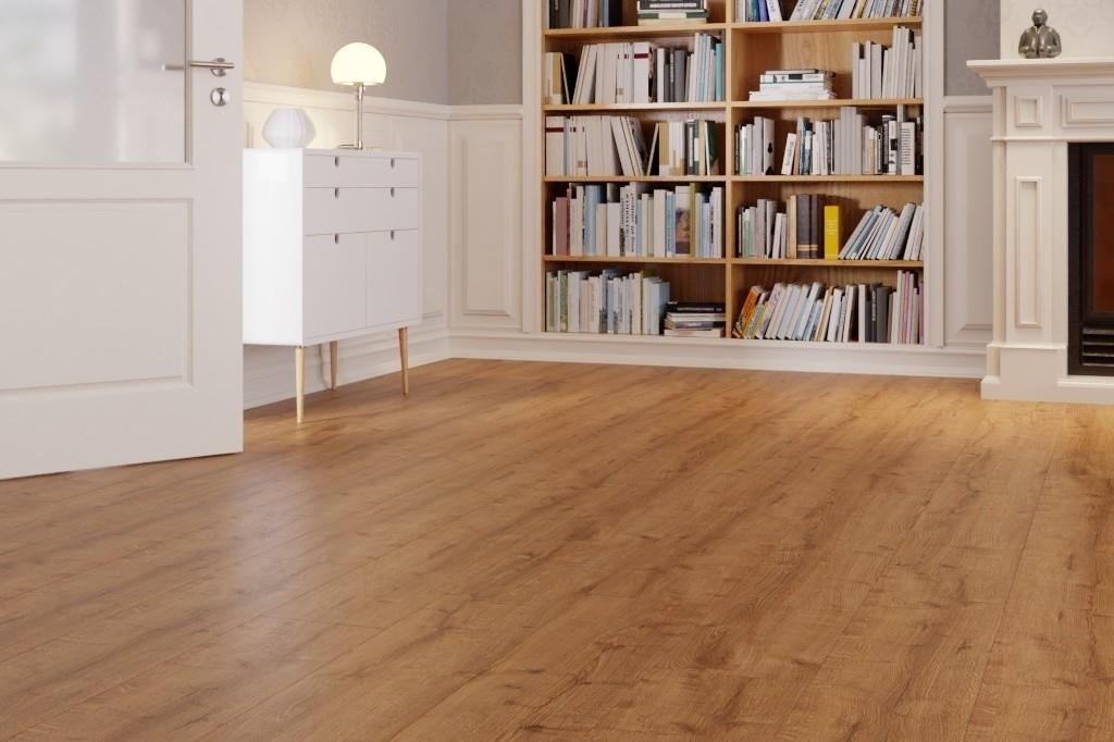 Comfort Eiche Mellow 1-Stab Designboden zum Verkleben wineo 400 wood XL - wineo