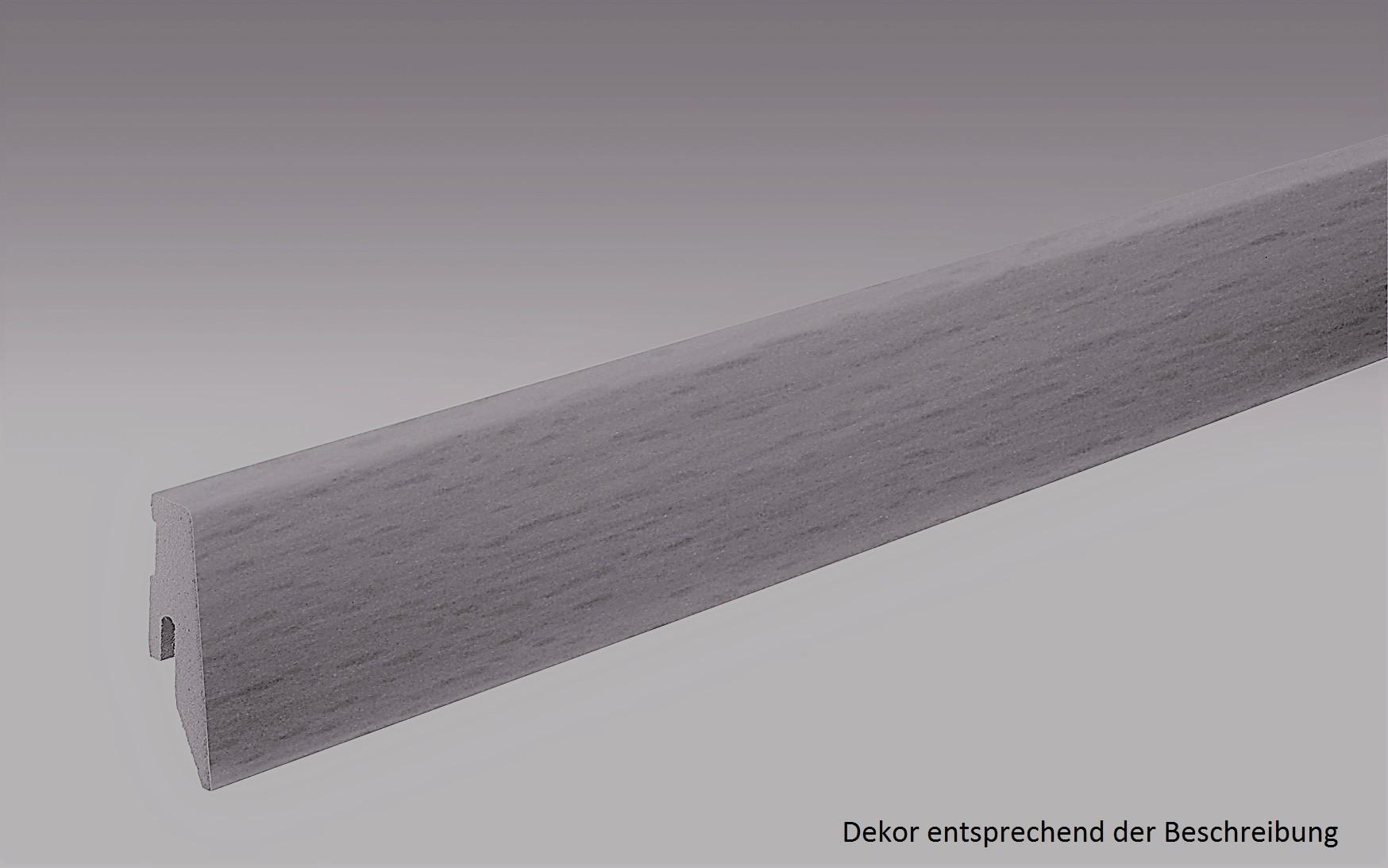 Eiche Long Beach Fußleiste Profil 3 PK (2500 x 20 x 60 mm) - MEISTER