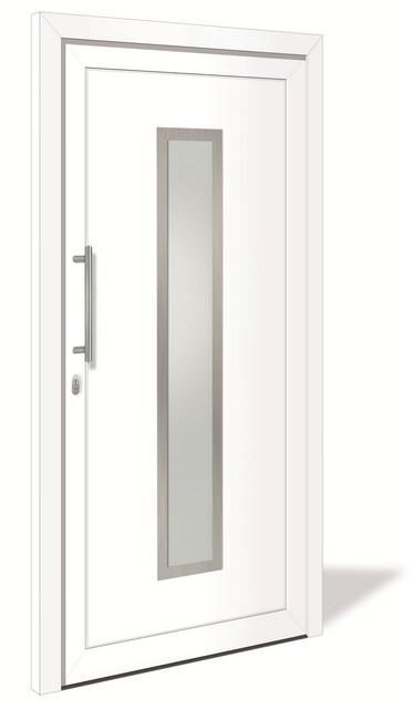 HT 1075 Kunststoff Haustür mit Glasausschnitt - Interio