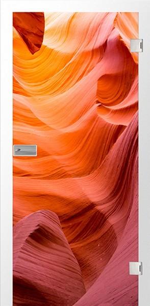 Höhle Fotoprint Glastür - Erkelenz