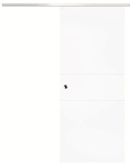 Bild von Schiebetür-System Infinity vor der Wand laufend - Jeld-Wen