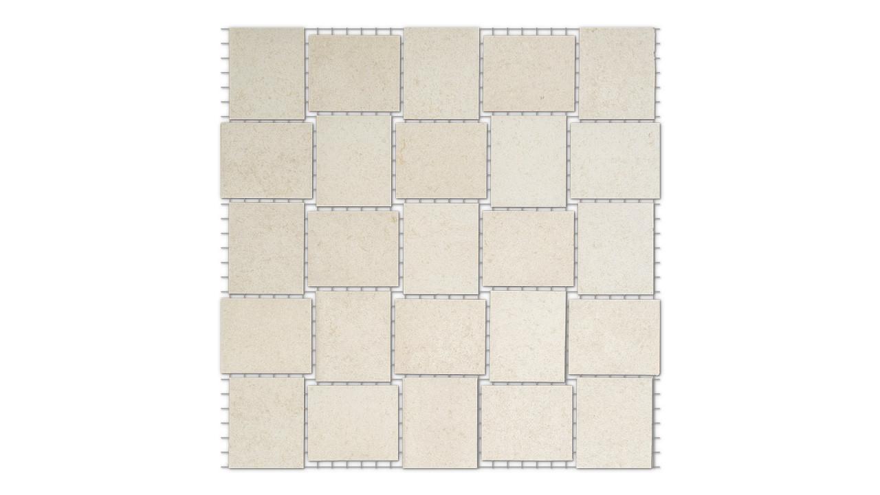 Mosaikfliesen Parma 5*5 Matt Parma 25 x 25 cm Steingut - Ceramika Konskie