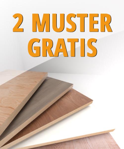 MUSTER Eiche Minsk Graubeige G08 Lange Landhausdielen Vinylboden Bright Edition - ter Hürne