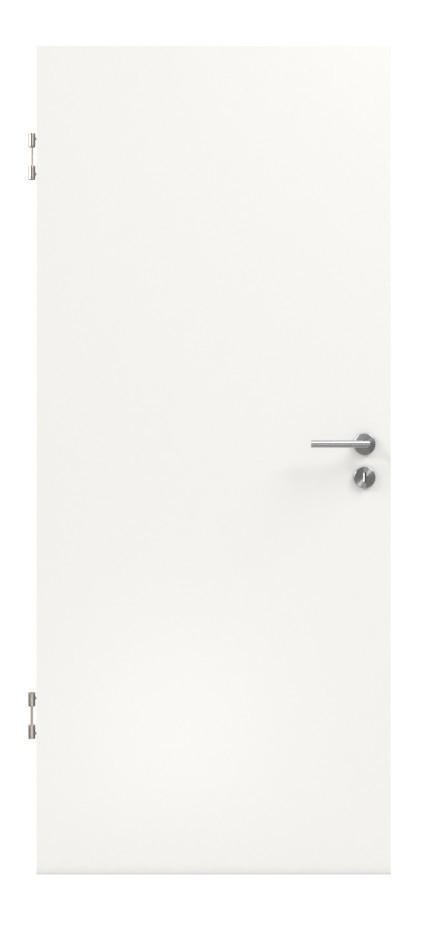 Schallschutztür Verkehrsweiß Lack 9016 - Lebo