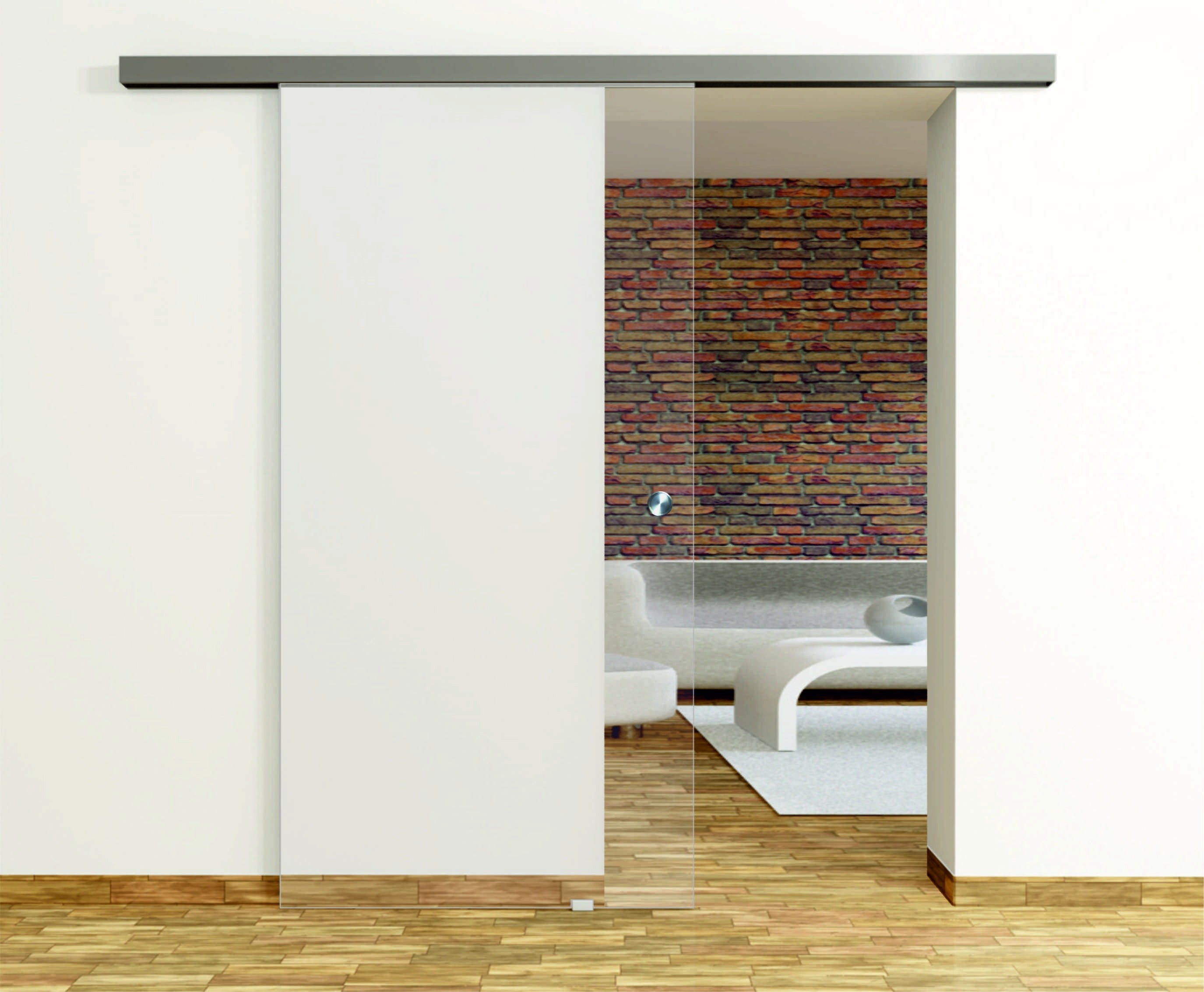 float klar glasschiebet r set inkl schiebet rsystem 45 erkelenz. Black Bedroom Furniture Sets. Home Design Ideas