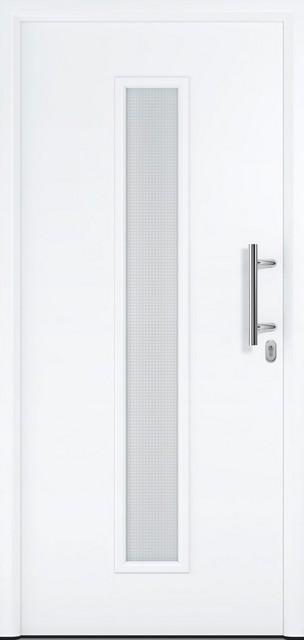 Bild von Motiv 020 Stahl-Aluminium Haustür Thermo46 mit Glasausschnitt - Hörmann