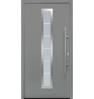 motiv 700 stahl aluminium haust r thermo65 mit glasausschnitt h rmann. Black Bedroom Furniture Sets. Home Design Ideas