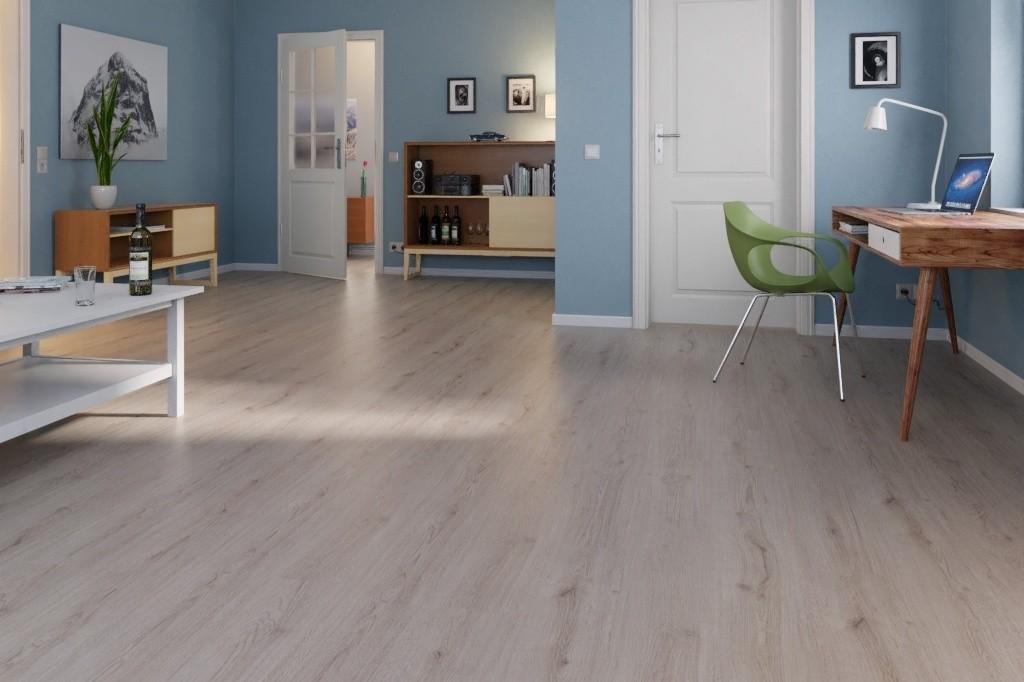 Trend Eiche Grau Landhausdiele Laminat Superior Standard D3126  - Swiss Krono Milieu Welt_03