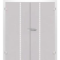 Bild von Algo Mattprint Doppelflügeltür mit Motiv matt - Erkelenz