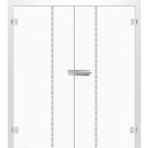 Bild von Algo Mattprint Doppelflügeltür mit Motiv klar - Erkelenz