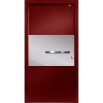 94011 Applikation Aluminium Haustür ohne Glasausschnitt - Bayerwald
