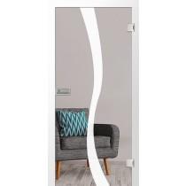Bergamo Mattierung Glastür mit Motiv matt - Erkelenz
