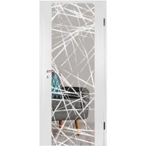 Bild von Brush 3 Micromattprint Holzglastür mit Motiv matt - Erkelenz