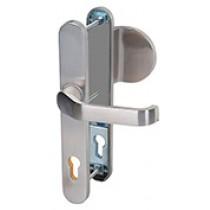 Edelstahl No. 61 Langschild Schutzbeschlag für Haustüren - Interio