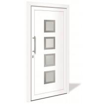 HT 1078 Kunststoff Haustür mit Glasausschnitt - Interio
