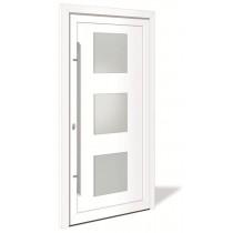 HT 1090 Kunststoff Haustür mit Glasausschnitt - Interio