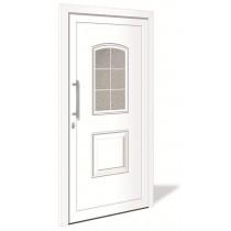 HT 1095 Kunststoff Haustür mit Glasausschnitt - Interio