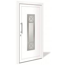 HT 1098 Kunststoff Haustür mit Glasausschnitt - Interio