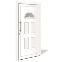 HT 1101 Kunststoff Haustür mit Glasausschnitt - Interio