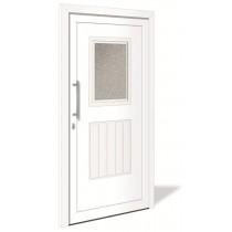 HT 1102 Kunststoff Haustür mit Glasausschnitt - Interio