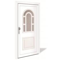 HT 1105 Kunststoff Haustür mit Glasausschnitt - Interio