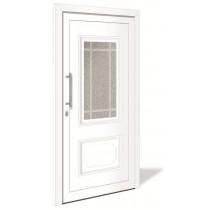 HT 1114 Kunststoff Haustür mit Glasausschnitt - Interio