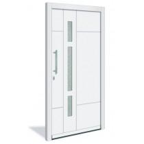 HT 1119 Holz Haustür mit Glasausschnitt - Interio