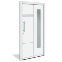 HT 1120 Holz Haustür mit Glasausschnitt - Interio