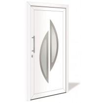 HT 1133 Aluminium Haustür mit Glasausschnitt - Interio