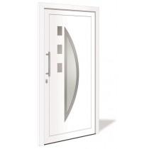 HT 1134 Aluminium Haustür mit Glasausschnitt - Interio