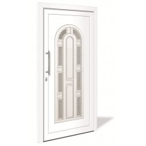 HT 1141 Aluminium Haustür mit Glasausschnitt - Interio
