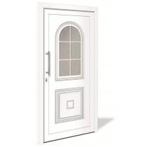 HT 1142 Aluminium Haustür mit Glasausschnitt - Interio