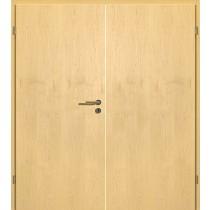 Bild von Can. Ahorn Echtholzfurniert Doppelflügeltür inkl. Zarge - Lebo