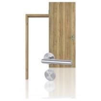 Innentür-Set Eiche Vintage CPL Tür mit Zarge und Drücker