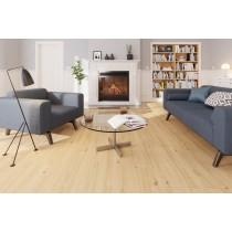 Eiche lebhaft natur 1-Stab Landhausdielen Designboden Premium inkl. Trittschalldämmung Tecara DD 350 S-6973 - Meister