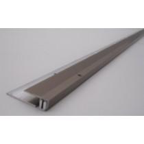 Schraub-Endschiene aus Edelstahl (90cm) - Interio