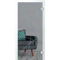 Bild von Er 14 Rillenschliff Glastür mit Fläche klar - Erkelenz