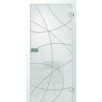 Er 14 Rillenschliff Glastür mit Fläche matt - Erkelenz
