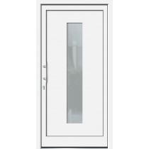 Milieubild der Weiße Basic Kunststoff Haustür Faunus 2 - Brand