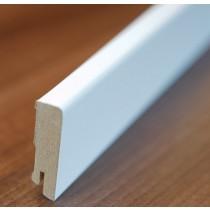 Große, weiße Fußleiste (streichfähig) - Interio