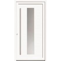 A 17 106 Aluminium Haustür mit Glasausschnitt - Kneer