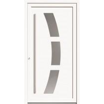 A 17 107 Aluminium Haustür mit Glasausschnitt - Kneer