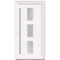A 17 108 Kunststoff Haustür mit Glasausschnitt - Kneer