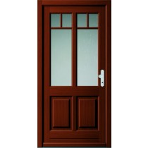 A 18 302 Holz Haustür mit Glasausschnitt - Kneer